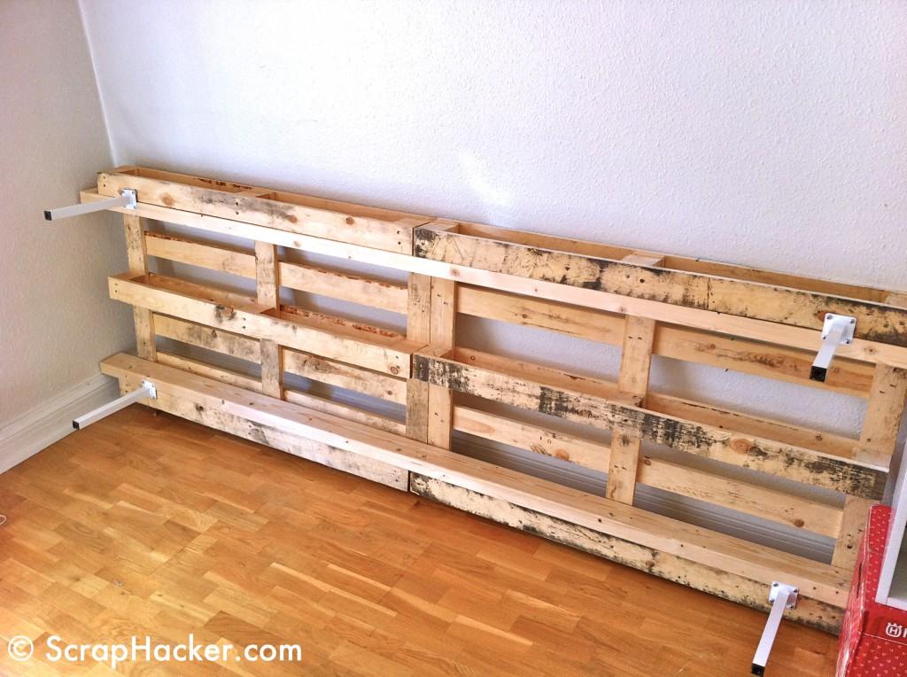 Mira lo que podes hacer con palets taringa - Hacer una cama de madera ...