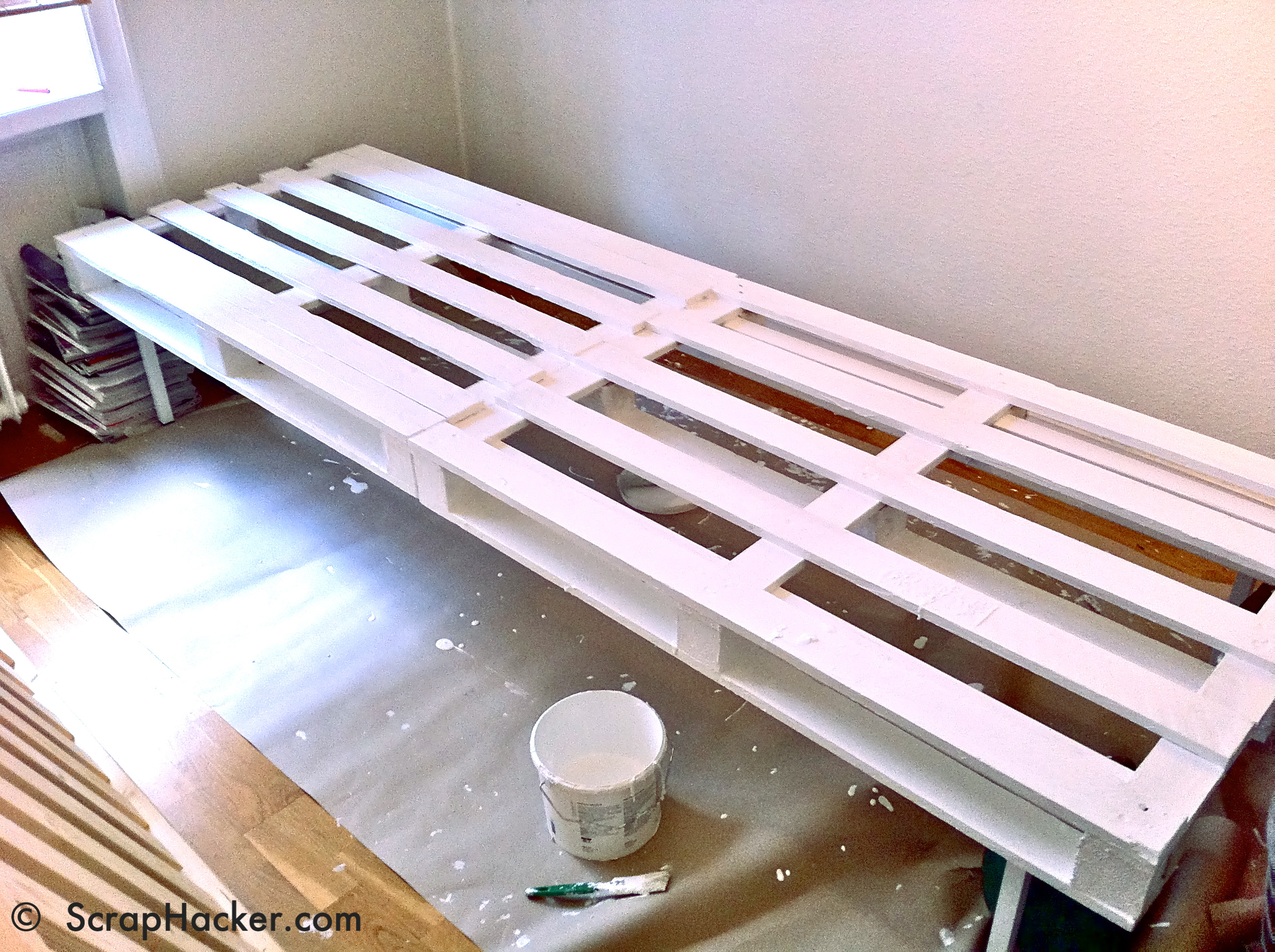 D i y lounger sofa bunk bed a 10 step tutorial for Bett 90x200 ikea