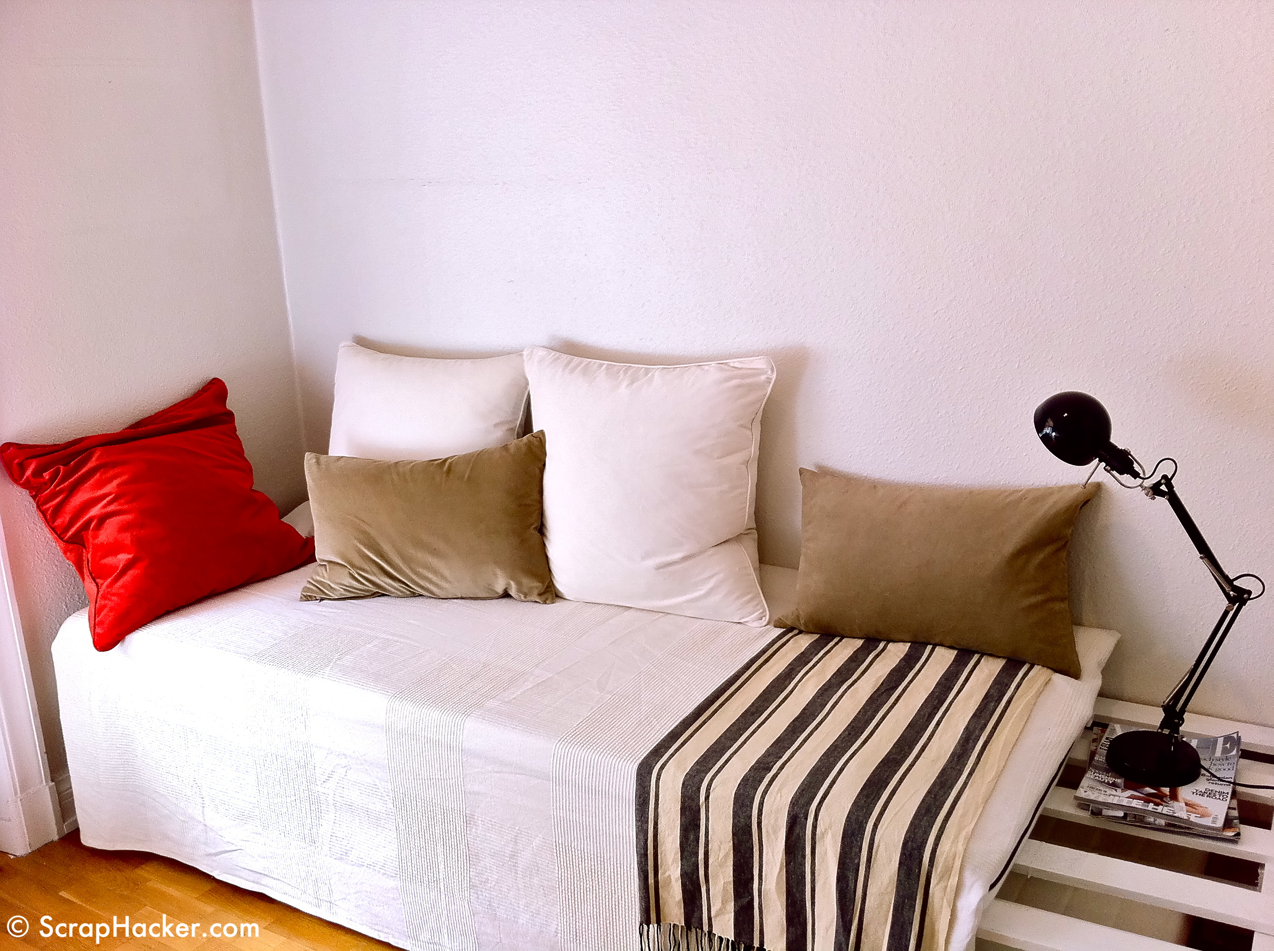 DIY Twin Bed Couch