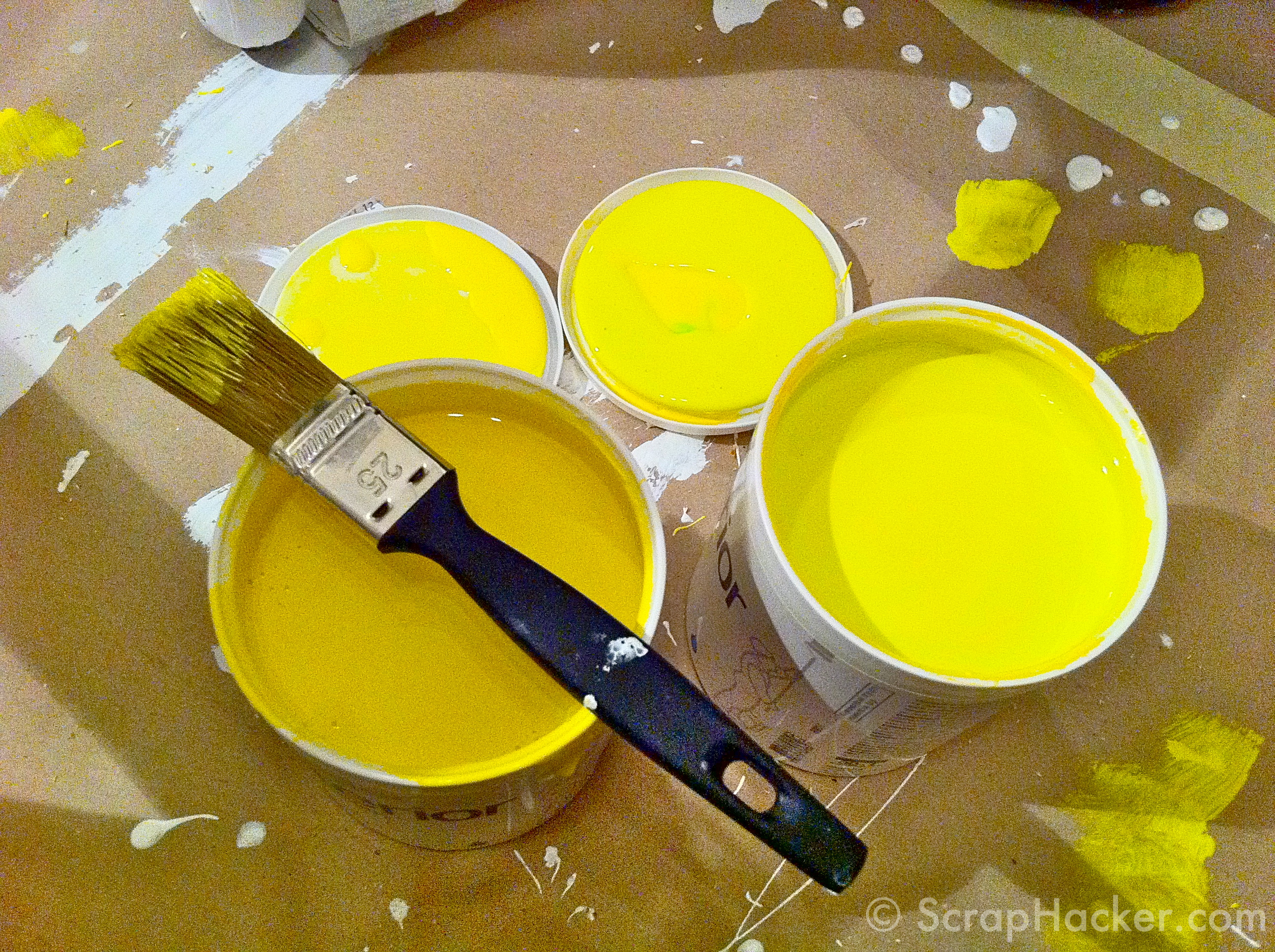 Bright Yellow Paint Bright Yellow Paint Simple Bright