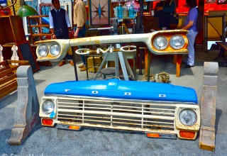 Vintage Ford Truck Grill