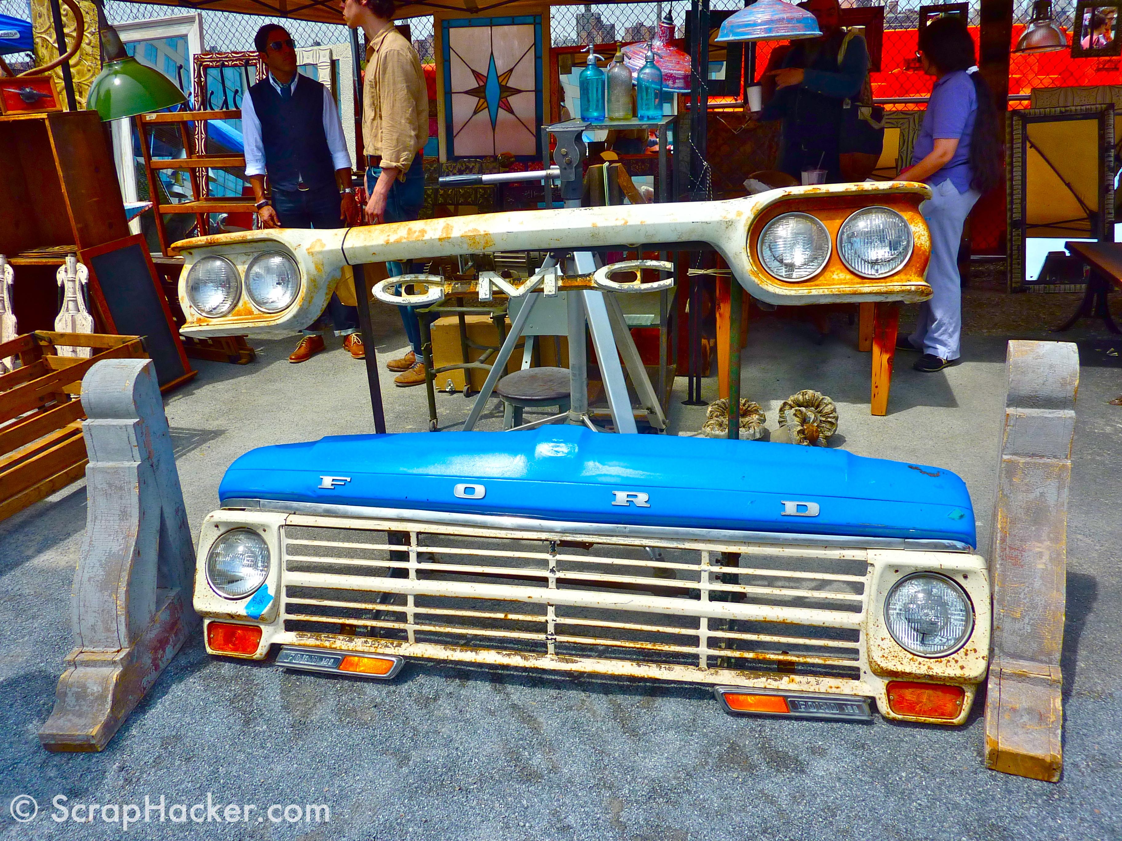 Salvaged Vintage Ford Truck Grill Williamsburg Flea