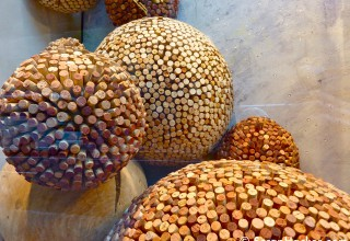 Balls of corks
