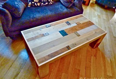 Letterpress table @ Liberty, London