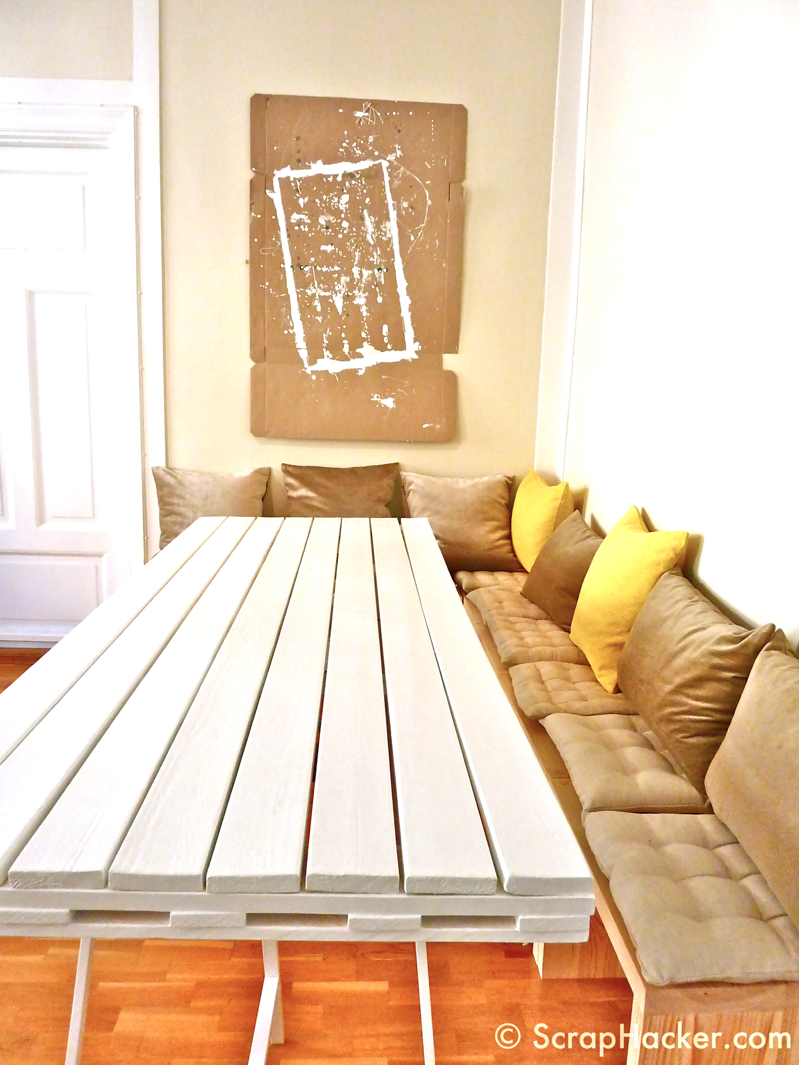 Pallet dining table - Step 10