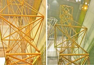 H&M string art, Knightsbridge store