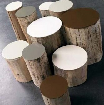 Log Stools - Another Version