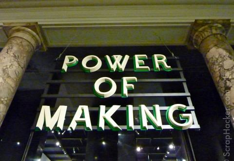 Power of making @ the V&amp;A in London