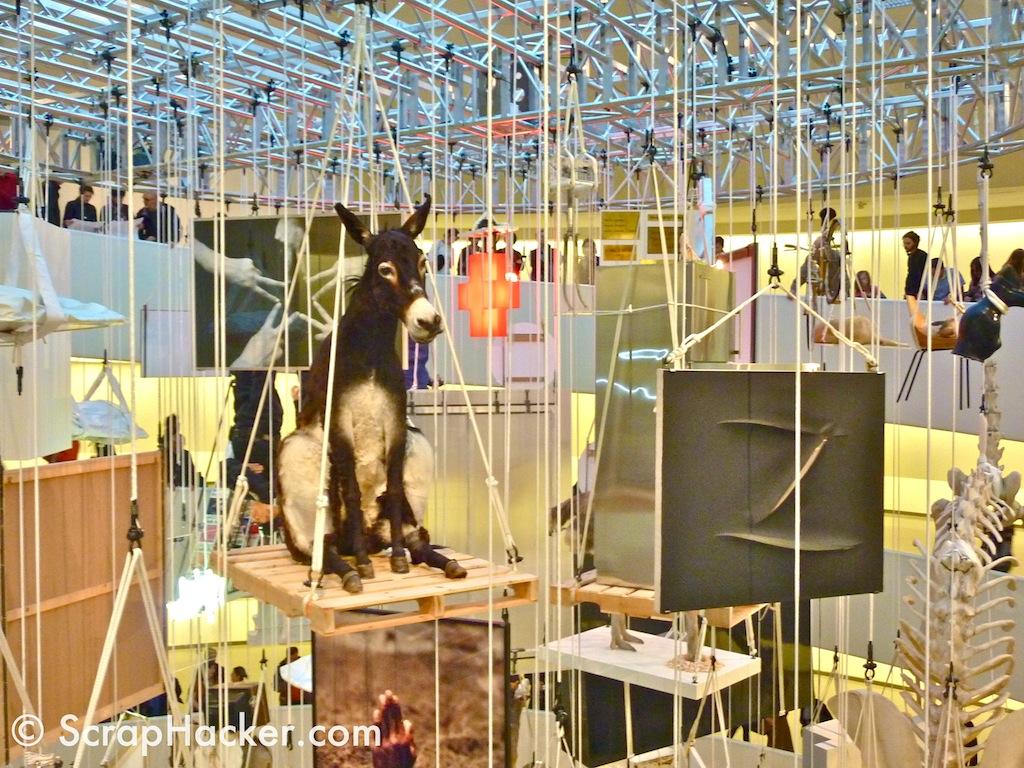 u0026quot;Allu0026quot; by Cattelan - ScrapHack @ Guggenheim NYC