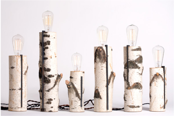 Birch Lamps