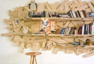 Campana Brothers book shelf