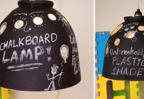chalkboard lamp