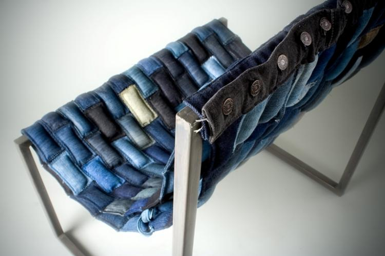 Denim Chair from Scrap lab