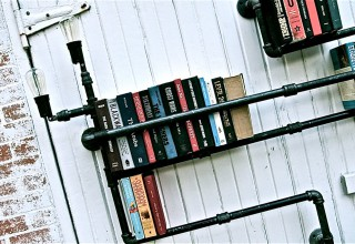 Pipe Shelves by Stella Bleu Designs