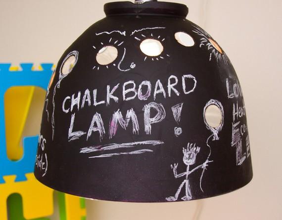 Wes Bennett Chalkboard Lamp