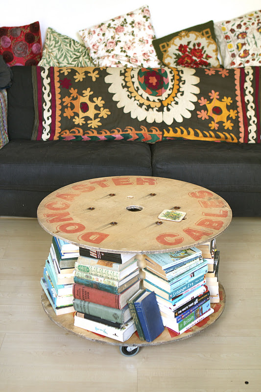Top 20 DIY Cool Cable Spool Coffee Table Hack Ideas