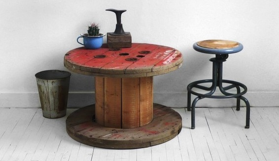Groovy Top 20 D I Y Cool Cable Spool Coffee Table Hack Ideas Caraccident5 Cool Chair Designs And Ideas Caraccident5Info