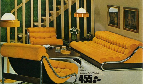 Blast from the past ikea s 1973 catalog for Interieur 70 jaren