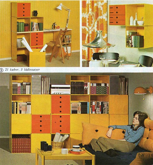 First Up Is This 70s Kitchen Scene From Swedish Retro Fanatic LegoJalex Featuring A Portable Radio And Color Palette That Practically Defined The Home