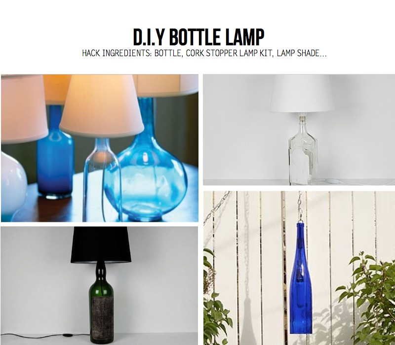 How To Make A Bottle Lampshade Lamp Ideas
