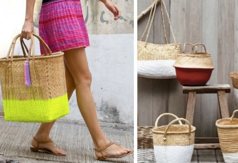 Basket Dip & Dye