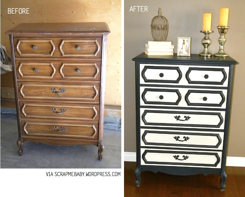 top 15 before after furniture re makes diy inspiration. Black Bedroom Furniture Sets. Home Design Ideas