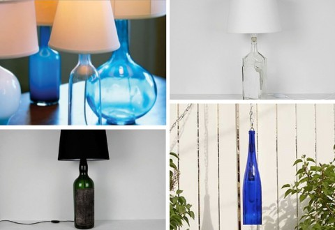 DIY Bottle Lamp Hack Ideas