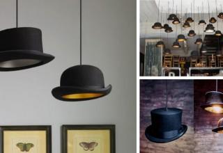 Bowler Hat Lamp