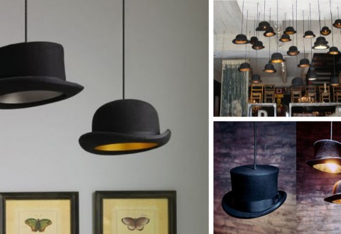 Bowler Hat Lamp
