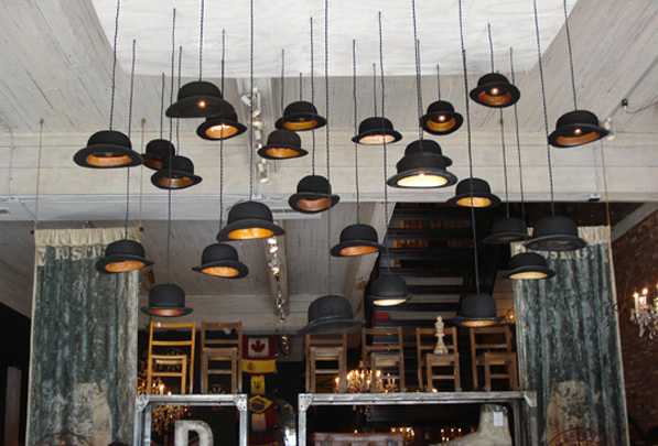 Jake Phipss, bowler pendant lights