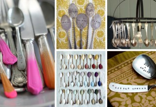 D.I.Y Cutlery Upcycling Ideas