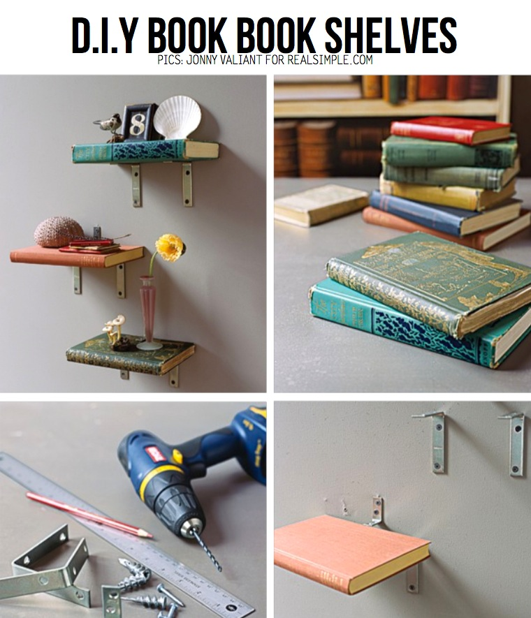 Creative DIY Book Shelf 760 x 885