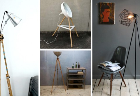 DIY Tripod Lamps - Inspiration