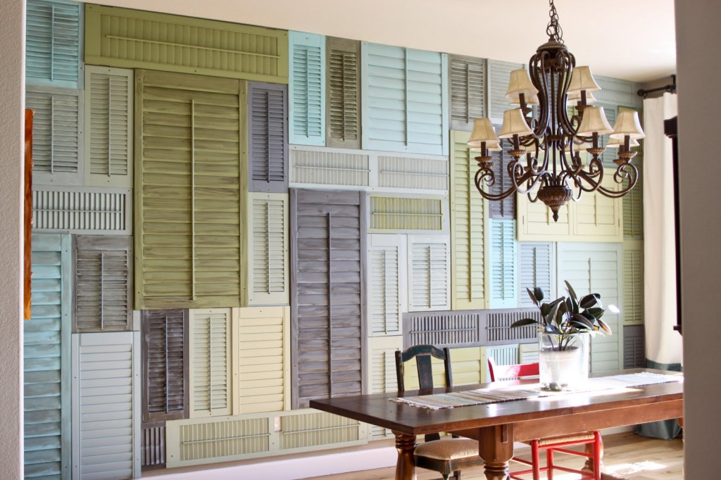 Upcycled Window Shutters Diy Inspiration Tutorials