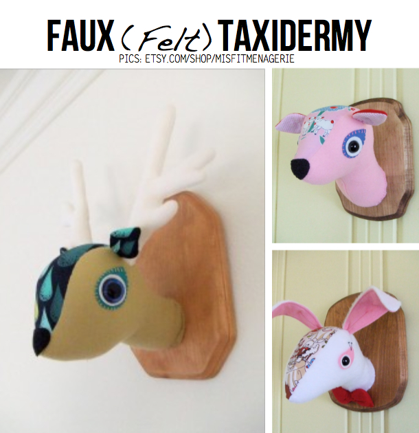 10 awesome d i y ideas for vegan taxidermy - Fake stuffed moose head ...