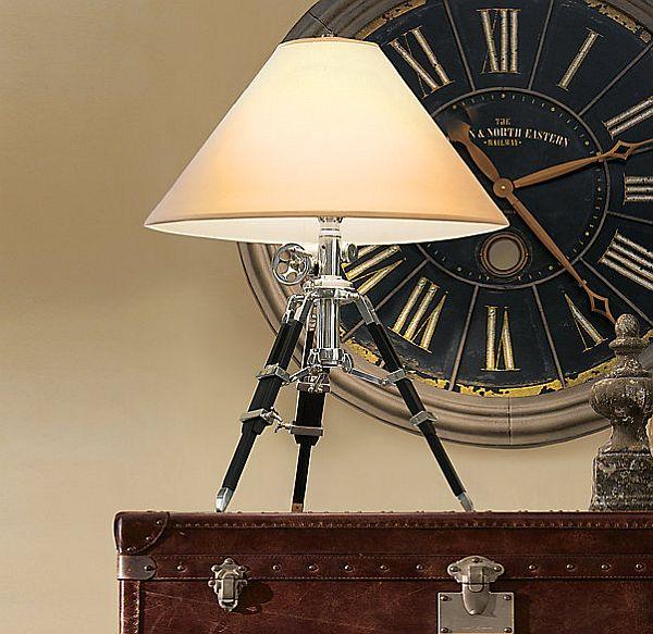 Diy tripod lamp 3 diy ideas - Homemade table lamps ...