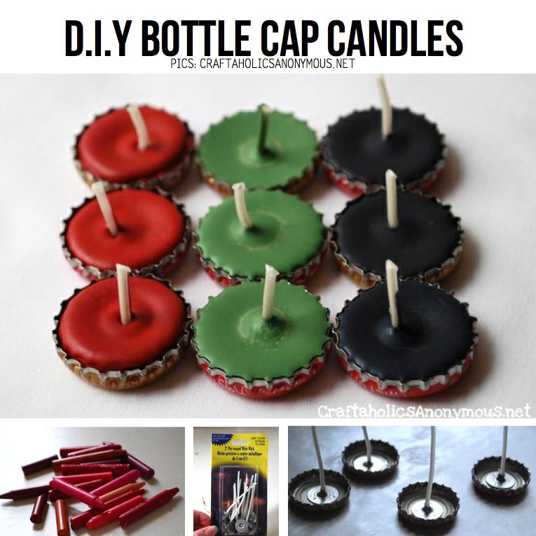 Diy candle hacks 5 awesome tutorials for Bottle cap hat diy