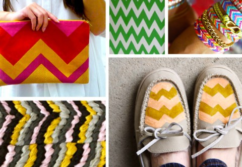 diy chevron