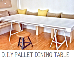 http://scraphacker.com/diy-pallet-dining-table/