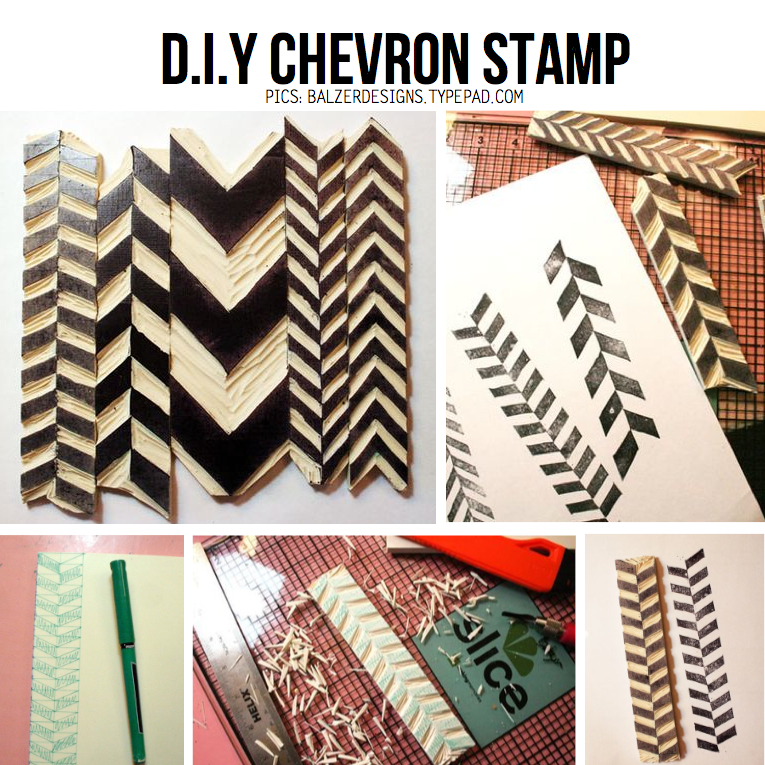 Diy Chevron Stamp – Awesome