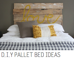 D.I.Y Pallet Beds