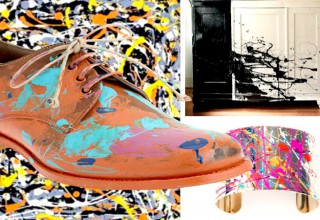 Jackson Pollock DIY Inspiration