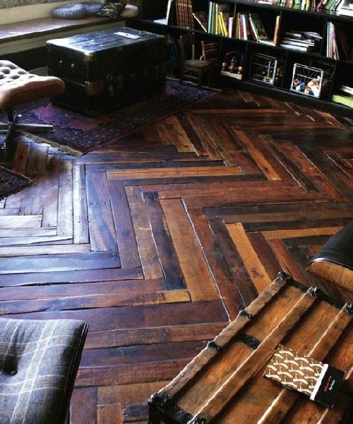 Diy chevron wood ideas 10 diy ideas for the home Chevron wood floor