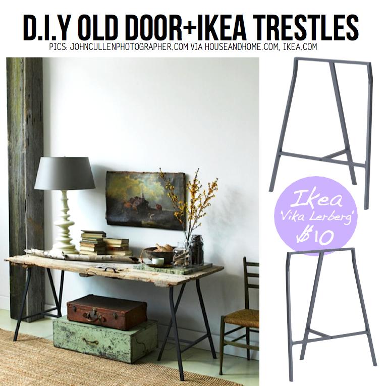 Diy Door Desk Ideas 10+ diy ideas to give new life to old doors!