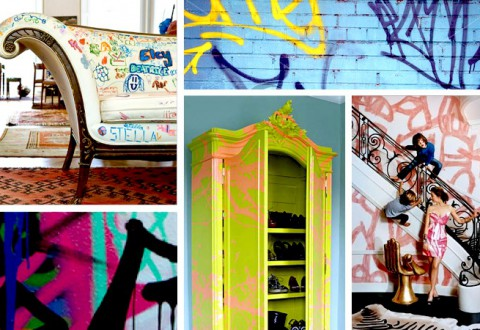Graffiti Furniture DIY Inspiration