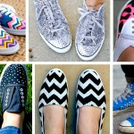 Pimp your sneakers! 10+ DIY Ideas & Tutorials