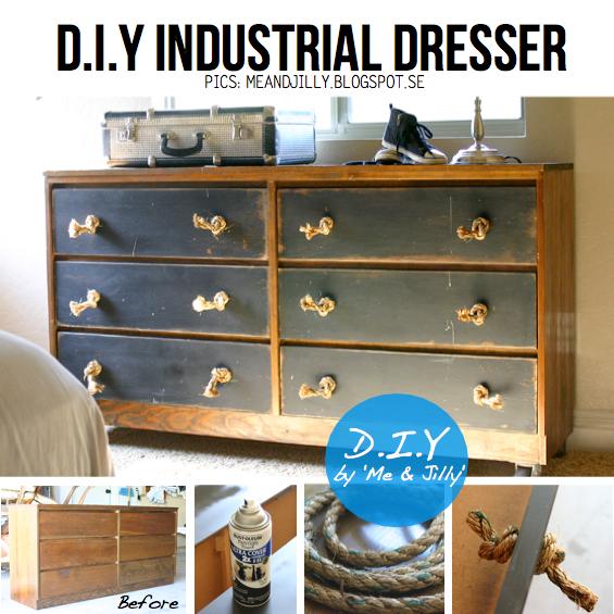 Diy dresser dress up 15 diy ideas tutorials for Diy ideas for old dressers