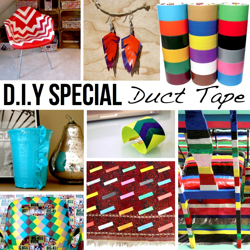 Duct tape diy 10 ideas tutorials for Duct tape bedroom ideas