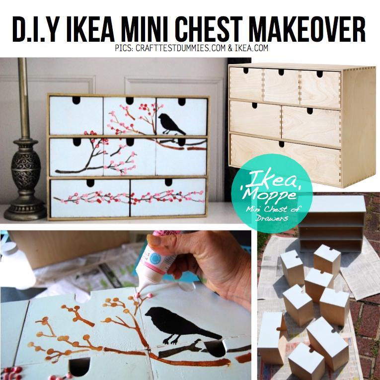 Ikea Mini Chest of Drawers Ikea's 'moppe' Mini Chest