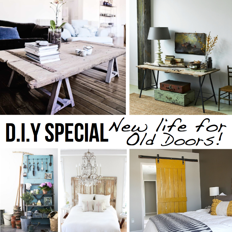 10 diy ideas to give new life to old doors